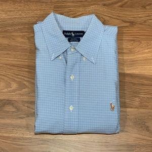 d03e9c01d Ralph Lauren Blake Long Sleeve Dress Shirt Size L